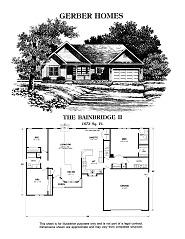 bainbridge ii floor plans