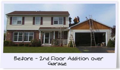 Building Above A Garage O2 Pilates