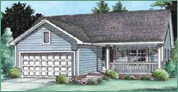 Gerber Homes: Cortland Ranch Floor Plan