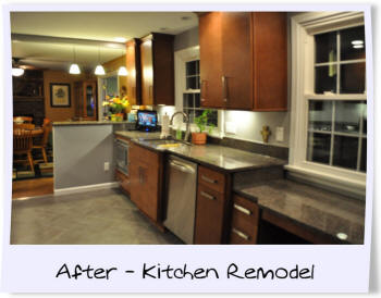 Kitchen Remodel by Gerber Homes and Additions In Ontario NY