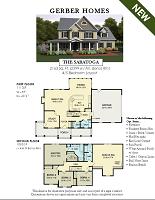 Saratoga Home Floor Design