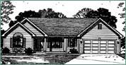 Gerber Homes: Savannah Ranch Floor Plan