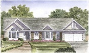 Gerber Homes: Winchester Ranch Floor Plan