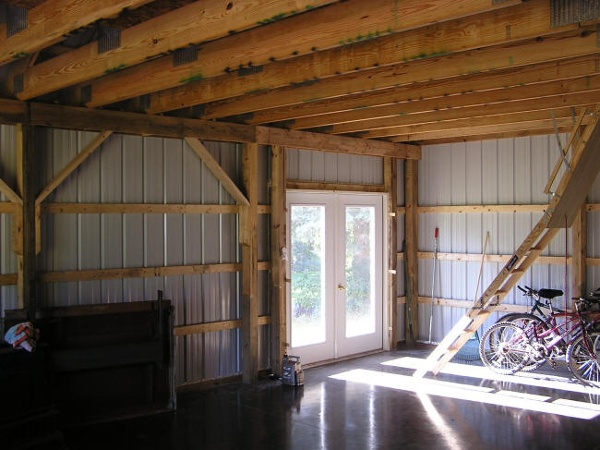 Pole Barn Remodel by Gerber Homes and Additions In Ontario NY