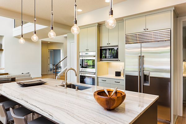 Kitchen Made For Entertaining in Your Rochester Custom Home