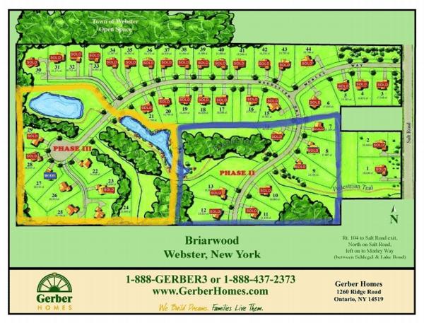 Briarwood Estates in Webster NY