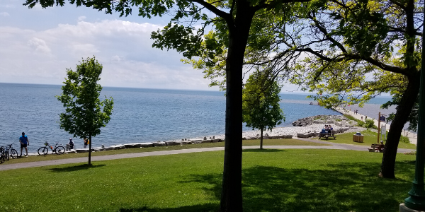 Lake Ontario in NY