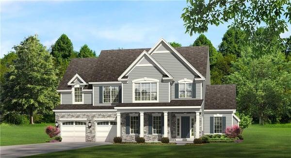 Fox Ridge Model Home in Canandaigua NY