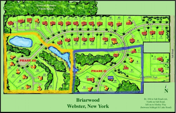 Briarwood Estates Gerber Homes Webster Ny New Homes