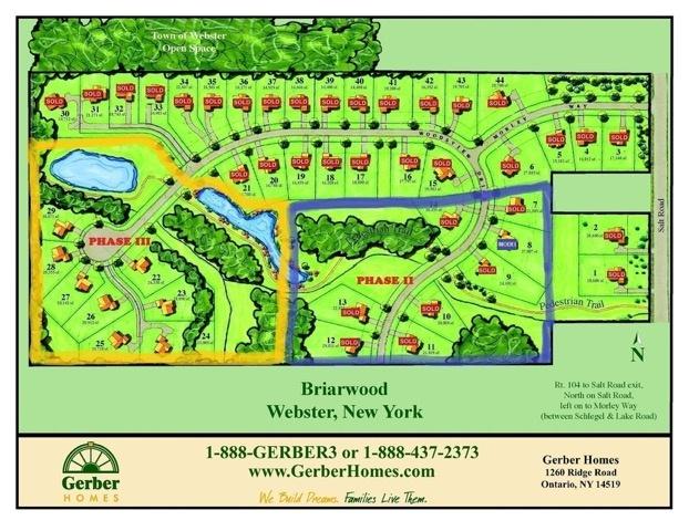 briarwood estates community in webster new york