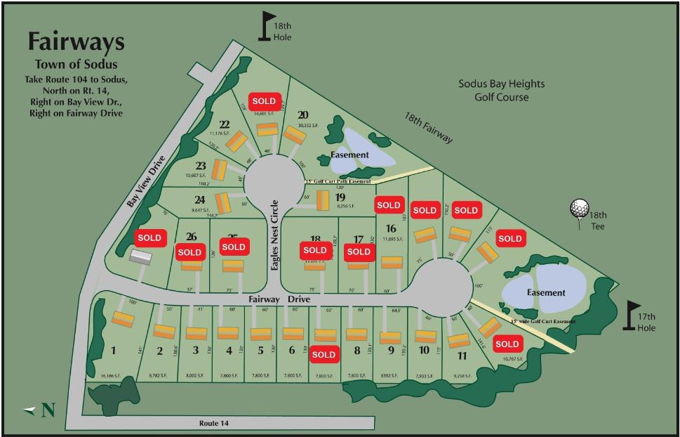 fairways community map